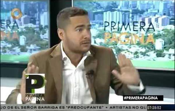 Ricardo Sánchez   Foto: Captura de video