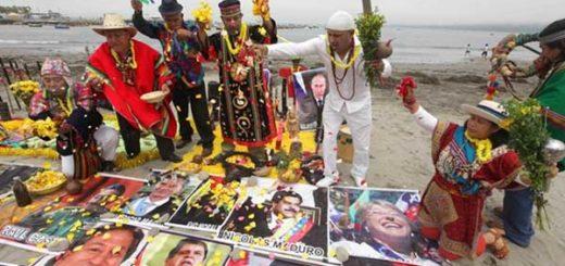 Chamanes presagian conflictos para 2017 | Foto: EFE