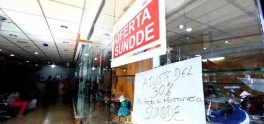 Rebajas de la Sundde |Foto: AVN