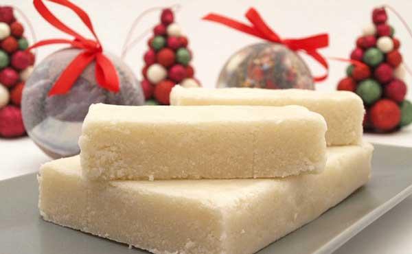 Turrón de coco para Navidad | Foto referencial