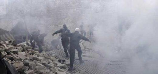 43 combatientes muertos por bombardeo en Alepo   Foto: EFE