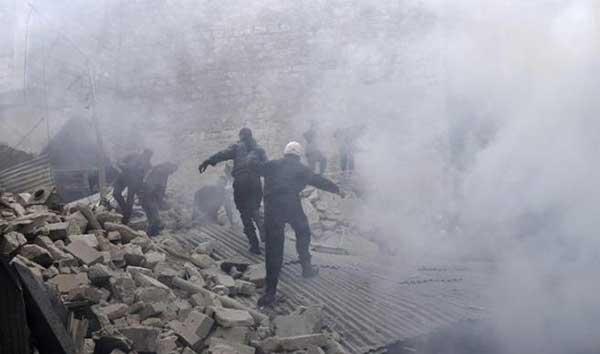 43 combatientes muertos por bombardeo en Alepo | Foto: EFE