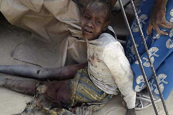 bombardeo en Nigeria | Foto: AFP