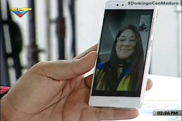 Nicolás Maduro anuncia el lanzamiento de la tecnología 4G | Captura de video