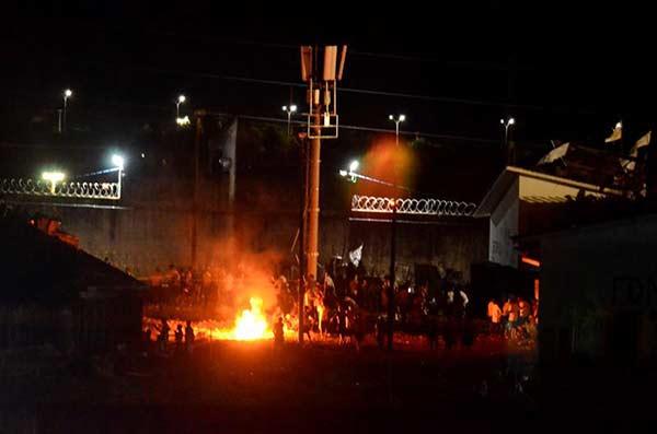 Confirman fuga de 56 reos de cárcel brasileña donde hubo veintena de muertos | Foto: EFE