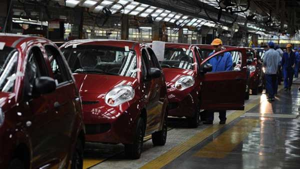Las cifras del debacle de la producción de autos en Venezuela   Foto: AFP