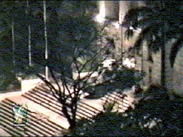 Incursión de Ávila Ávila en el Palacio de Miraflores durante la intentona golpista del 4 de Febrero de 1992 / Cortesía Prensa Digital.