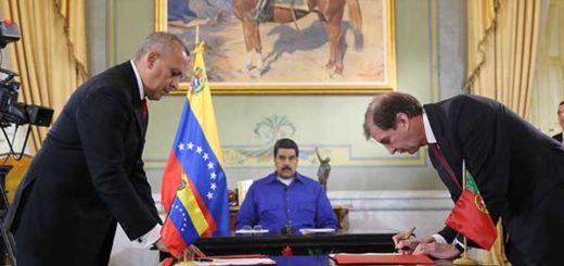 Venezuela firma acuerdos estratégicos para agilizar comercio marítimo desde La Guaira | Foto: @DPresidencia