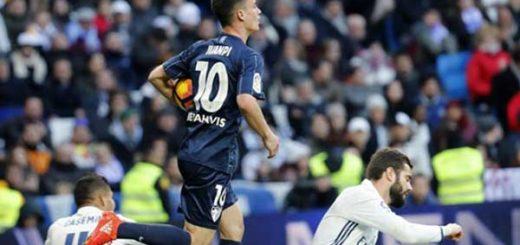 Juanpi anotó gol para el Málaga |Foto: EFE