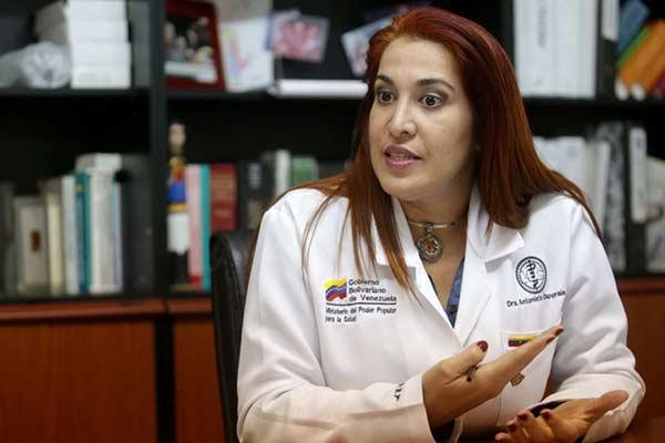 Doctora Antonieta Caporales estará al frente del Ministerio de Salud |Foto: Panorama