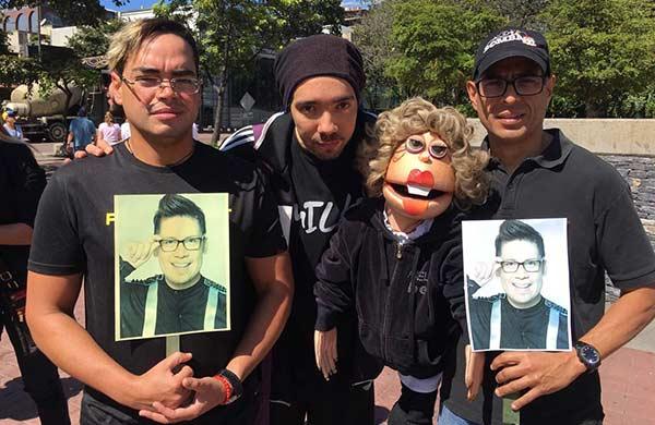Artistas protestan este 23-E contra la inseguridad |Foto Twitter