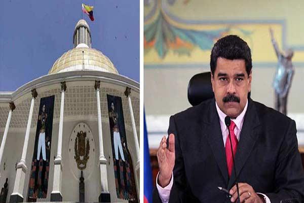 Asamblea Nacional puede declarar abandono de cargo a Nicolás Maduro |Composición: Notitotal