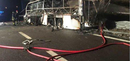 Accidente de autobús en Italia deja al menos 16 fallecidos |Foto: EFE