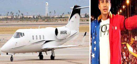 Dea rastrea avión donde se trasladaba el hijo de Cilia Flores |Composición: Notitotal