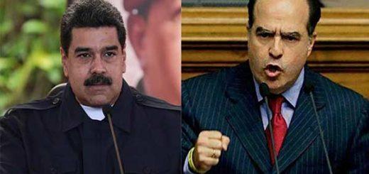 Nicolás Maduro / Julio Borges