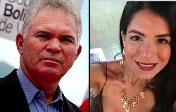 Carlos Mata Figueroa y su esposa, Margoth Mora | Twitter