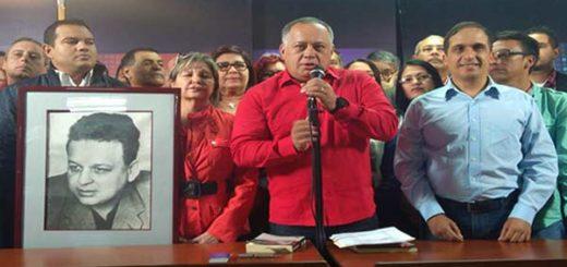 Diosdado Cabello y Bloque de la Patria | Foto: @BloquedePatria