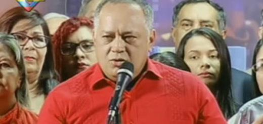 Diosdado Cabello | Foto: @VTVCanal8