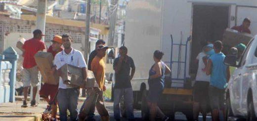 Saqueo en Maracaibo  Foto: Versión Final