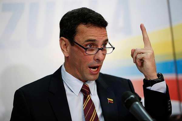 Henrique Capriles |Foto: Reuters