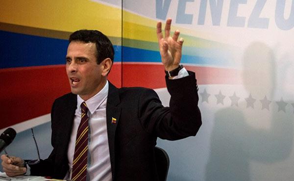 Henrique Capriles |Foto: Miguel Gutiérrez / EFE