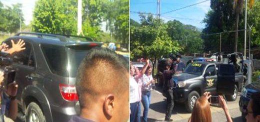 General Raúl Iasías Medina Baduel fue trasladado por el Conas a Caracas |Foto: Twitter