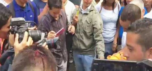 Manifestantes fueron reprimidos por querer apoyar a Capriles |Captura de video