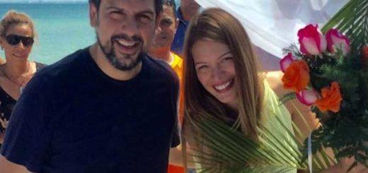 La animadora Mariángel Ruiz y el alcalde Carlos Ocariz llevan casi 5 años de relación |Foto: Twitter