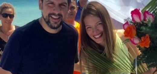 Mariángel Ruiz y Carlos Ocariz |Foto: Twitter