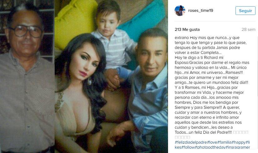 Captura Instagram| Rosángel habla de su esposo Richard Coroba