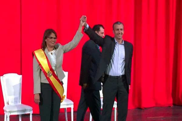 Caryl Bertho asumirá la Gobernación de Aragua por designación de Tarek El Aissami |Foto: Globovisión