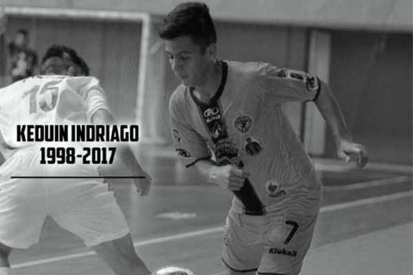 Falleció Keduin Indriago jugador de la Sub 20 del Futsal |Foto: Twitter