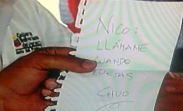 La supuesta carta de Torrealba a Maduro | Foto: Caraota Digital