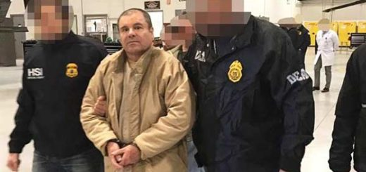 "Extraditan a EEUU a Joaquín ""Chapo"" Guzmán  Foto: AFP"