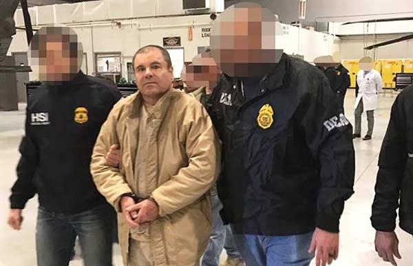 "Extraditan a EEUU a Joaquín ""Chapo"" Guzmán |Foto: AFP"