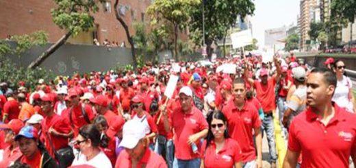 Empleados públicos aseguran ser presionados a asistir a actos del Gobierno |Foto referencial, crédito: El Nacional