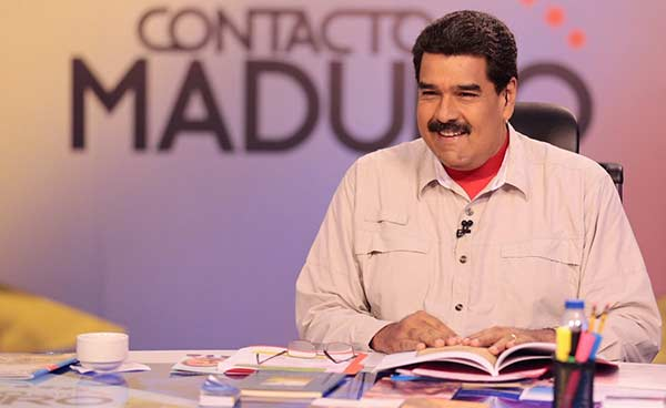 Nicolás Maduro anuncia cambio de nombre a su programa  Foto: Prensa presidencial