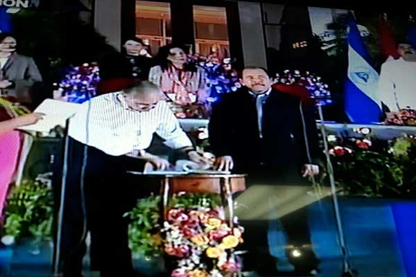 Daniel Ortega asumió cuarta presidencia de Nicaragua |Foto: Twitter