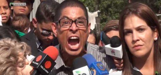 Juan Carlos Vásquez, el intérprete de Doña Griselda | Foto: Captura de video