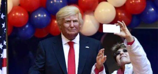 Figura de cera de Donald Trump ya sustituyó la de Barack Obama  Foto: AFP