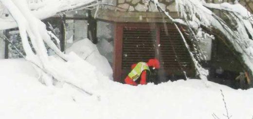 Alud sobre un hotel en Italia se cobra la vida de al menos 24 personas |Foto: EFE