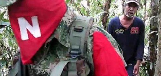 Guerrilla del Ejército de Liberación Nacional (ELN)  Foto: EFE