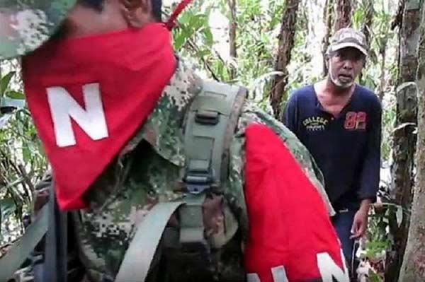 Guerrilla del Ejército de Liberación Nacional (ELN) |Foto: EFE