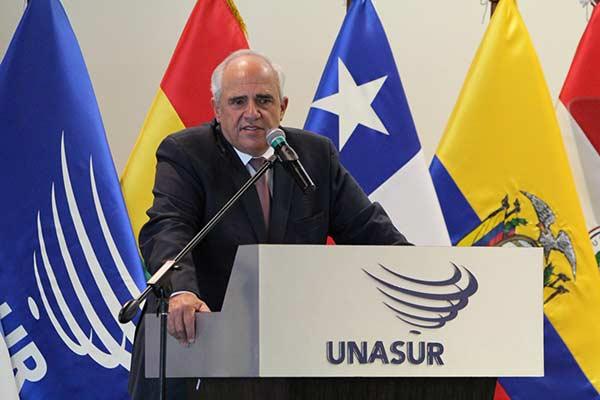 Ernesto Samper, ex secretario General de la Unasur  Foto: Cancillería de Venezuela