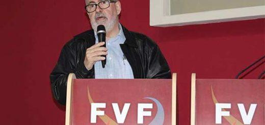 Presidente de la FVF, Laureano Gonzàlez, |Foto cortesía