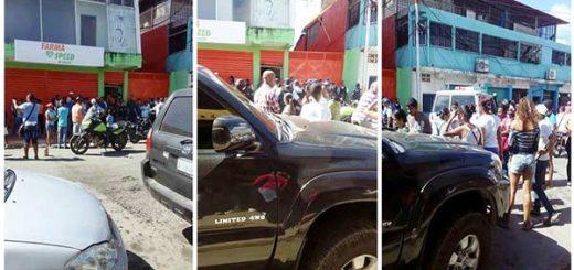Reportan saqueo en Güiria, Sucre  Foto: @Imag3n