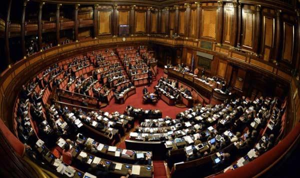Parlamento italiano aprob apoyo para la lucha por la for Concorsi parlamento italiano 2017