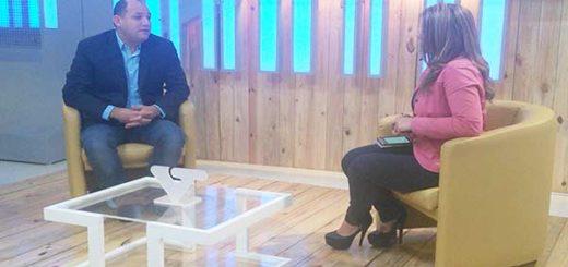 """Hugbel Roa asegura que el Gobierno no pretende """"desmejorar"""" beneficios laborales  Foto: VTV"""