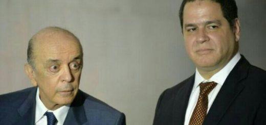 Ministro brasileño de relaciones exteriores, José Serra junto al parlamentario venezolano, Luis Florido| Foto: Nota de prensa