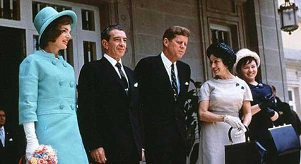 Jackie Kennedy el día de la asunción de John F. Kennedy en el 61 | Foto: Agencias
